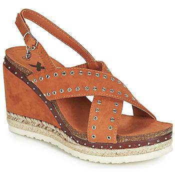 Čevlji  Ženske Sandali & Odprti čevlji Xti 48922 Cognac