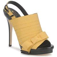 Čevlji  Ženske Sandali & Odprti čevlji Jerome C. Rousseau BYEN Rumena / Črna
