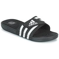 Čevlji  Natikači adidas Originals ADISSAGE Črna / Bela