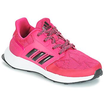 Čevlji  Deklice Tek & Trail adidas Performance RAPIDARUN K Rožnata