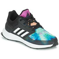 Čevlji  Deklice Tek & Trail adidas Performance RAPIDARUN X K Črna