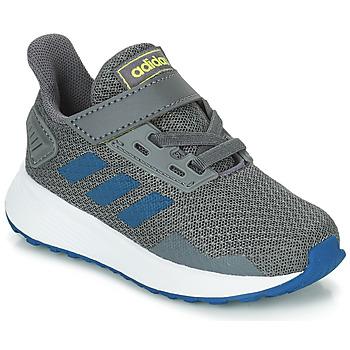 Čevlji  Dečki Tek & Trail adidas Performance DURAMO 9 I Siva