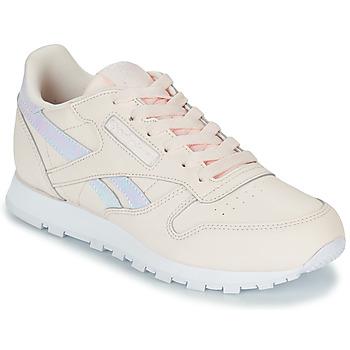 Čevlji  Deklice Nizke superge Reebok Classic CLASSIC LEATHER Rožnata