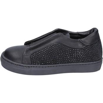Čevlji  Deklice Slips on Holalà BT374 Črna
