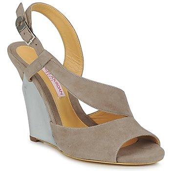 Čevlji  Ženske Sandali & Odprti čevlji Charles Jourdan PALOMA Vison
