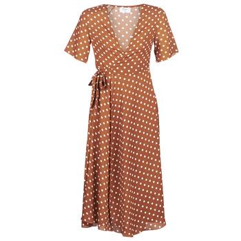Oblačila Ženske Dolge obleke Betty London KEYLA Kostanjeva
