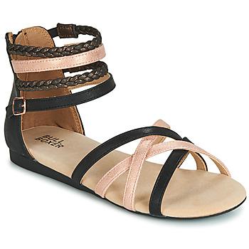 Čevlji  Deklice Sandali & Odprti čevlji Bullboxer AED009 Črna
