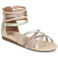Čevlji  Deklice Sandali & Odprti čevlji Bullboxer AED009 Pozlačena / Rožnata