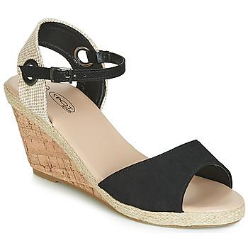 Čevlji  Ženske Sandali & Odprti čevlji Spot on F2265 Črna