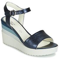 Čevlji  Ženske Sandali & Odprti čevlji Stonefly ELY 7 LAMINATED LTH Modra