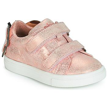 Čevlji  Deklice Nizke superge Acebo's BAMBU Rožnata