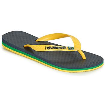 Čevlji  Japonke Havaianas BRASIL LAYERS Modra