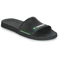 Čevlji  Moški Natikači Havaianas SLIDE BRASIL Črna
