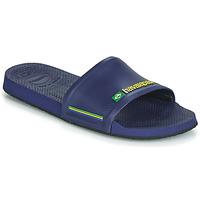 Čevlji  Natikači Havaianas SLIDE BRASIL Modra
