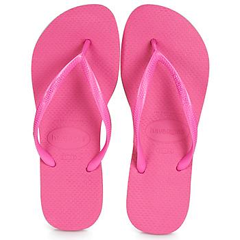Čevlji  Ženske Japonke Havaianas SLIM Rožnata