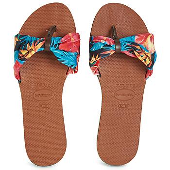 Čevlji  Ženske Japonke Havaianas YOU SAINT TROPEZ Oranžna