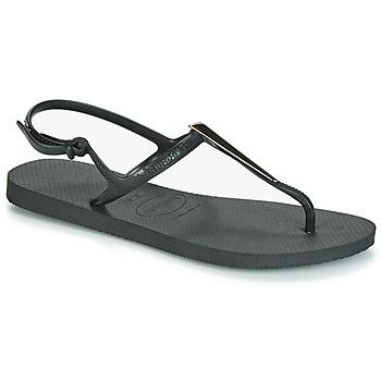 Čevlji  Ženske Sandali & Odprti čevlji Havaianas FREEDOM MAXI Črna