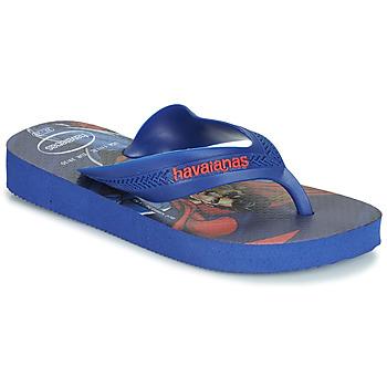 Čevlji  Dečki Japonke Havaianas KIDS MAX HEROIS Modra