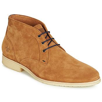 Čevlji  Moški Polškornji Kost CALYPSO 59 Cognac