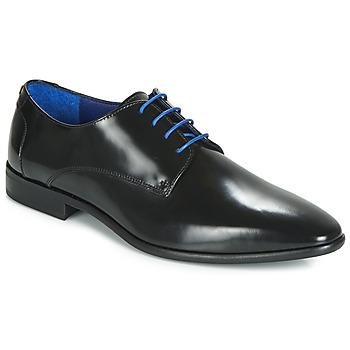 Čevlji  Moški Čevlji Derby Azzaro VALMI Črna