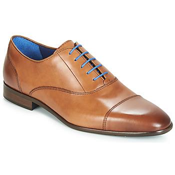 Čevlji  Moški Čevlji Richelieu Azzaro RAELAN Cognac