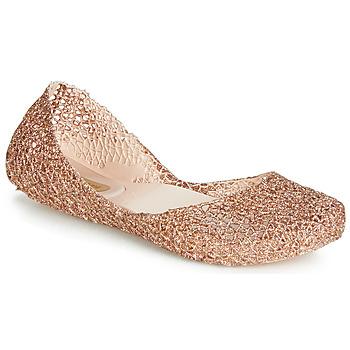 Čevlji  Ženske Balerinke Melissa CAMPANA PAPEL VII Črna / Bronze