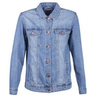 Oblačila Ženske Jeans jakne Noisy May NMOLE Modra