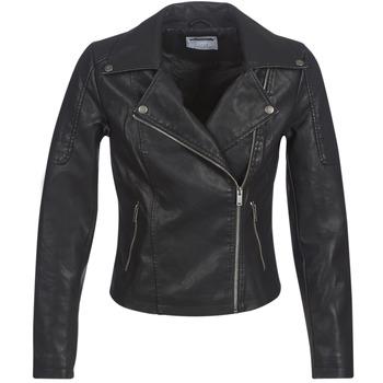 Oblačila Ženske Usnjene jakne & Sintetične jakne Noisy May NMREBEL Črna