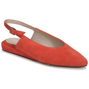Čevlji  Ženske Balerinke Fericelli IKIRUA Rdeča