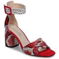 Čevlji  Ženske Sandali & Odprti čevlji Fericelli JEZI Rdeča