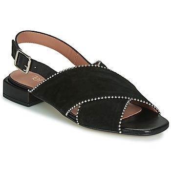 Čevlji  Ženske Sandali & Odprti čevlji Fericelli JANELLE Črna
