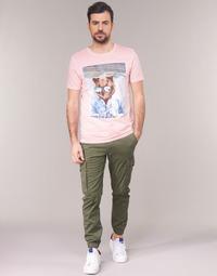 Oblačila Moški Hlače cargo Jack & Jones JJIPAUL Kaki