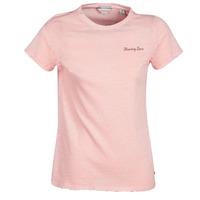 Oblačila Ženske Majice s kratkimi rokavi Maison Scotch SS T-SHIRT Rožnata