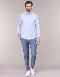 Oblačila Moški Hlače Chino / Carrot Scotch & Soda RALSTONO Modra