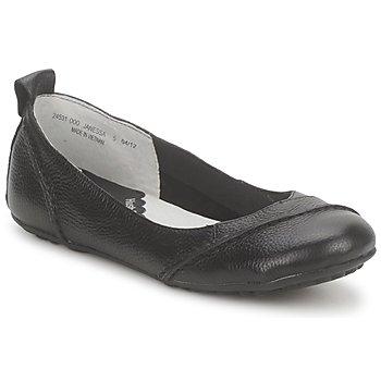 Čevlji  Ženske Balerinke Hush puppies JANESSA Črna