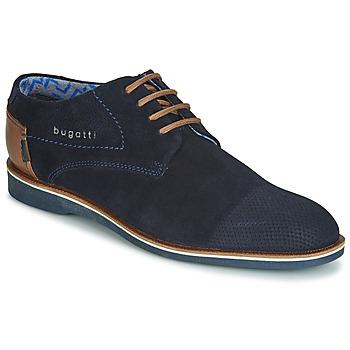 Čevlji  Moški Čevlji Derby Bugatti TOUZETTE Modra