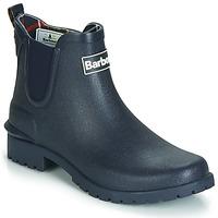 Čevlji  Ženske škornji za dež  Barbour WILTON Modra