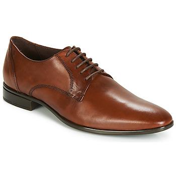 Čevlji  Moški Čevlji Derby Carlington EMRONED Cognac