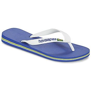 Čevlji  Japonke Havaianas BRASIL LOGO Bela