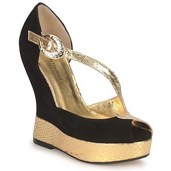Čevlji  Ženske Sandali & Odprti čevlji Terry de Havilland PENNY Črna-zlata