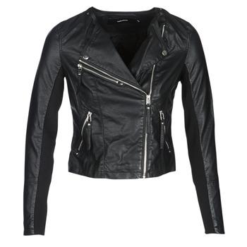 Oblačila Ženske Usnjene jakne & Sintetične jakne Vero Moda VMRIA FAV Črna