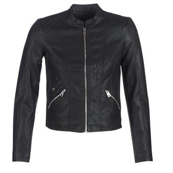 Oblačila Ženske Usnjene jakne & Sintetične jakne Vero Moda VMKHLOE Črna