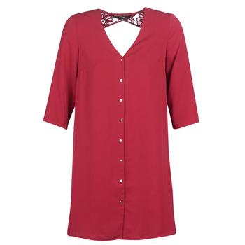 Oblačila Ženske Kratke obleke Vero Moda VMRICKY Bordo