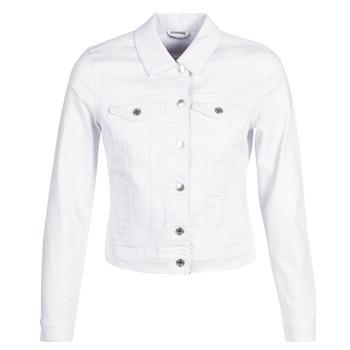 Oblačila Ženske Jeans jakne Vero Moda VMHOT SOYA Bela