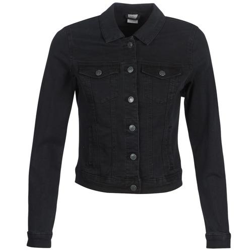 Oblačila Ženske Jeans jakne Vero Moda VMHOT SOYA Črna