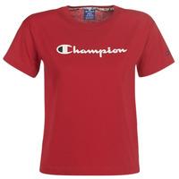 Oblačila Ženske Majice s kratkimi rokavi Champion 111393-RIR Bordo