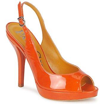 Čevlji  Ženske Sandali & Odprti čevlji Paco Gil STAR FIZO Oranžna