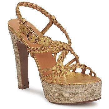 Čevlji  Ženske Sandali & Odprti čevlji Michel Perry 12716 Zlatá