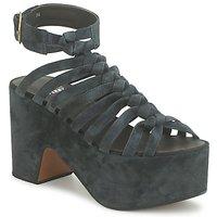 Čevlji  Ženske Sandali & Odprti čevlji Michel Perry 12676 Tmavá