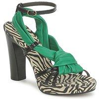 Čevlji  Ženske Sandali & Odprti čevlji Michel Perry 12709 Smaragdově zelený